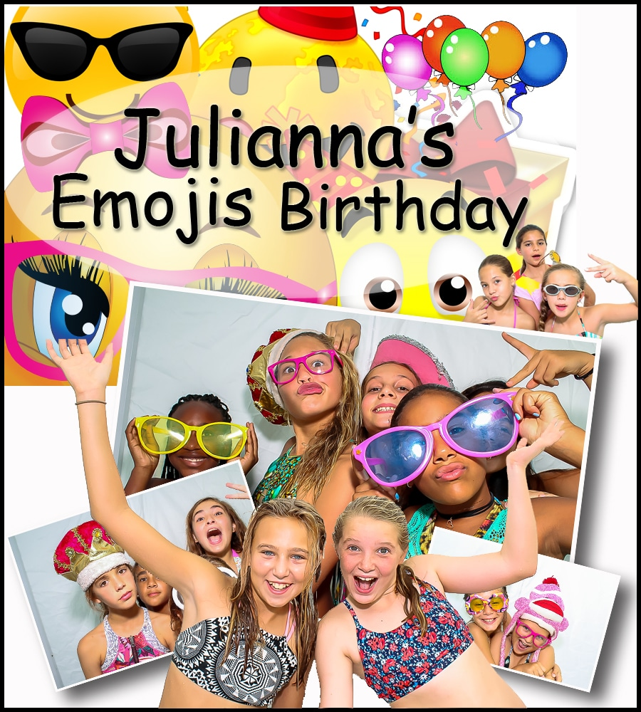 Emojis Photo Booth Party