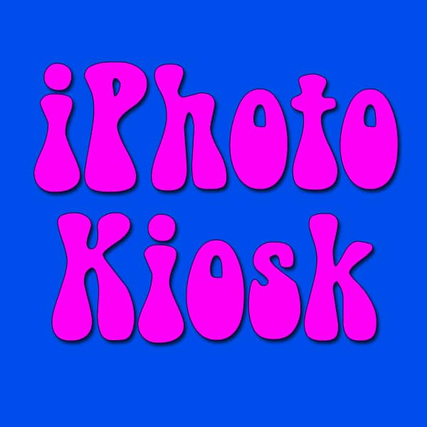 The iPhoto Kiosk