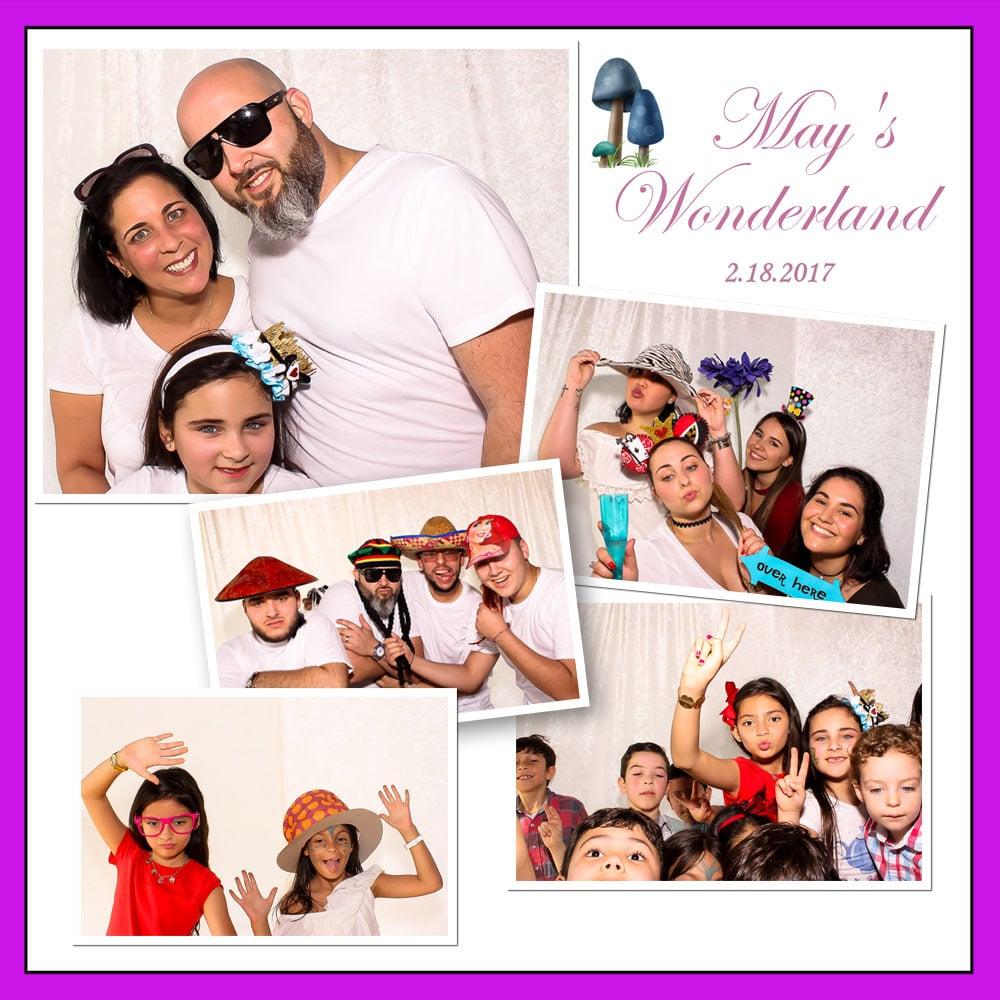 Wonderland Photo Booth