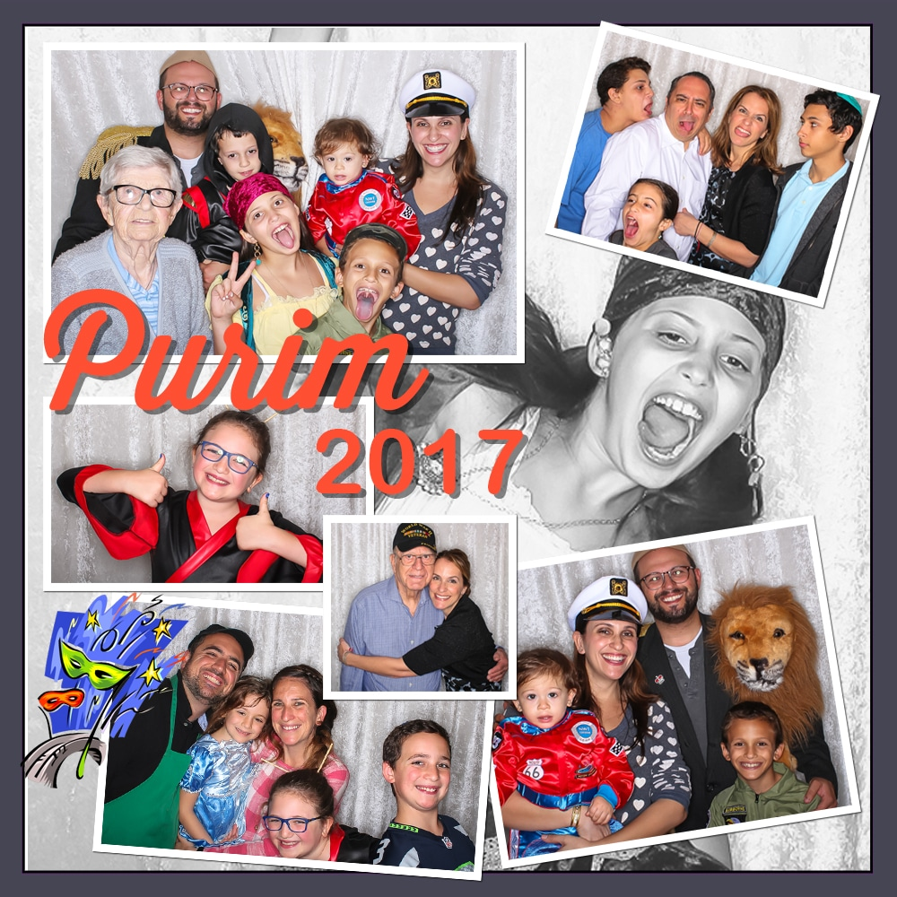 Purim Photo Booth Party 2017