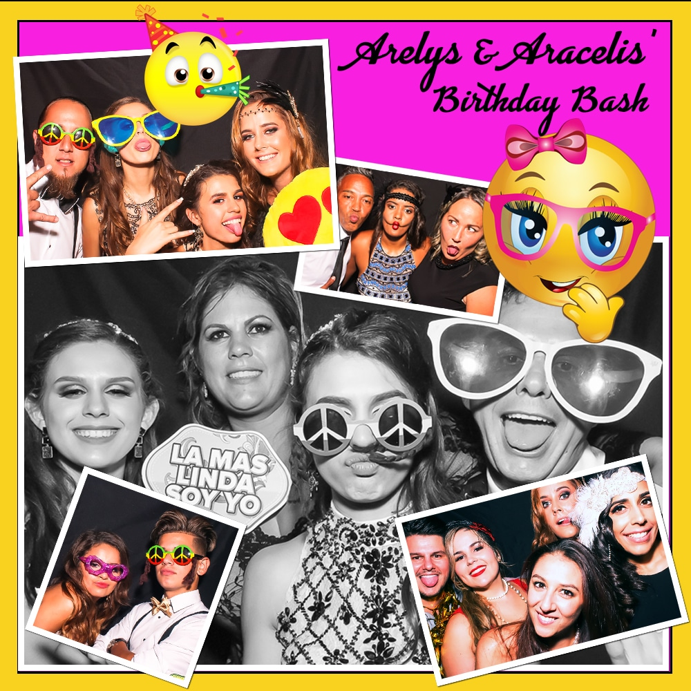 Birthday Sisters Photo Booth
