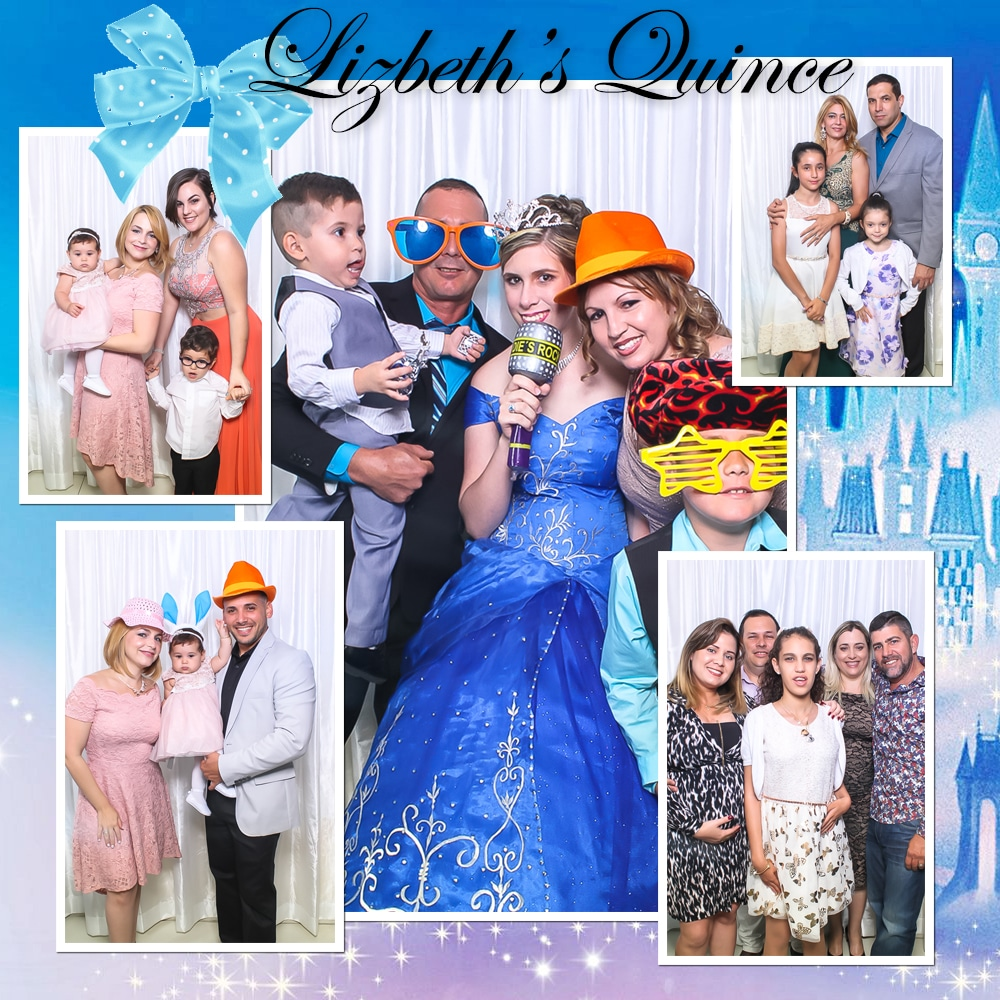 Cinderella Quince Photo Booth