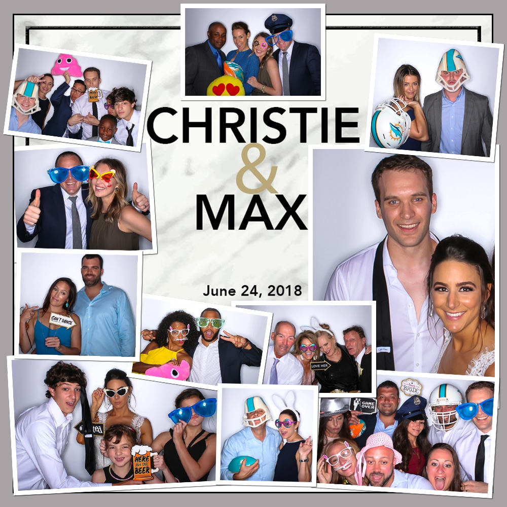 Photo Booth Wedding Bash Miami Style