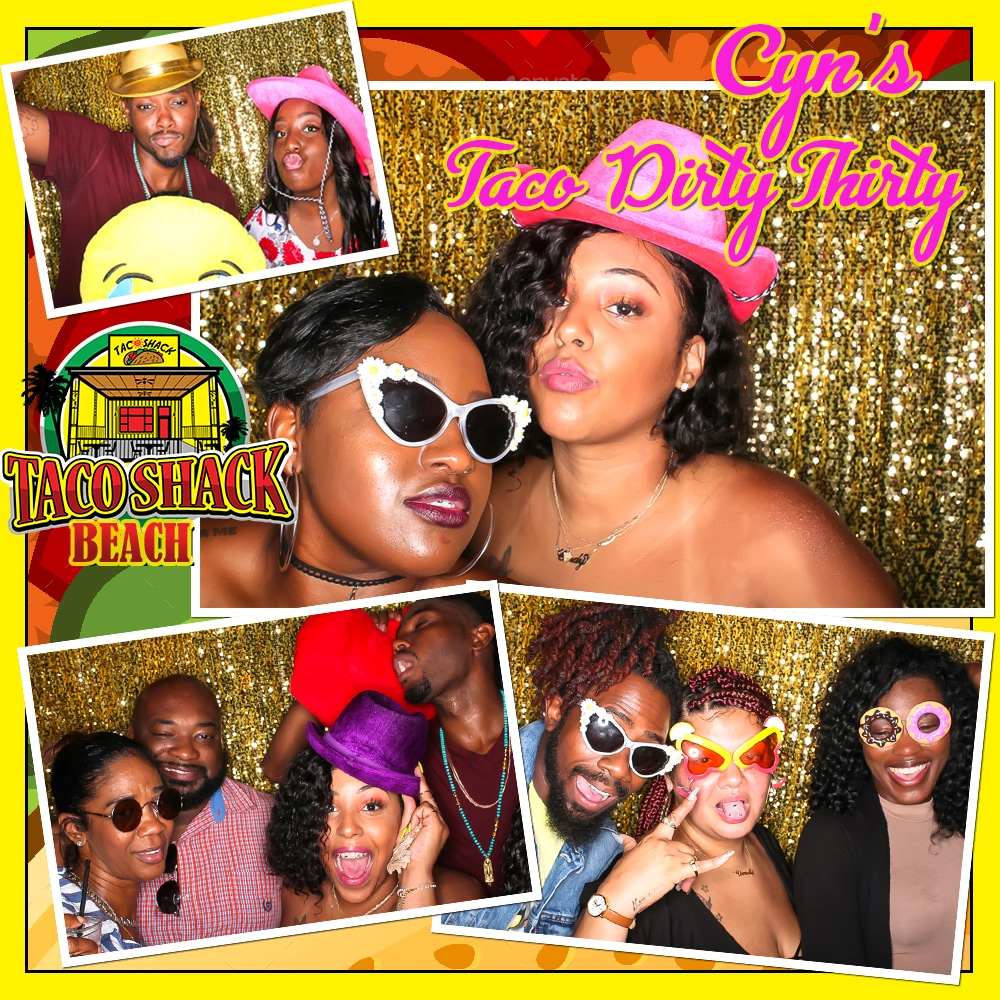Dirty Thirty  Photo Booth