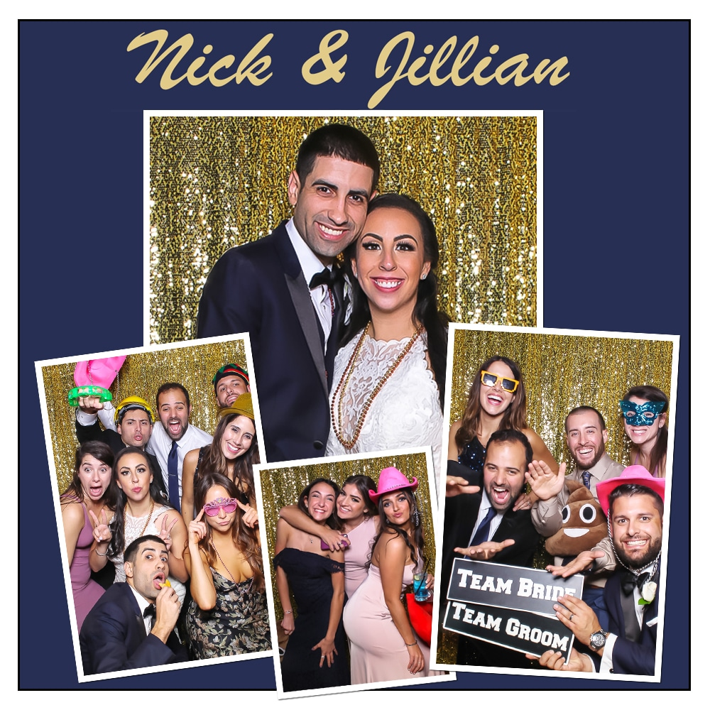 Coral Gables Photo Booth Wedding