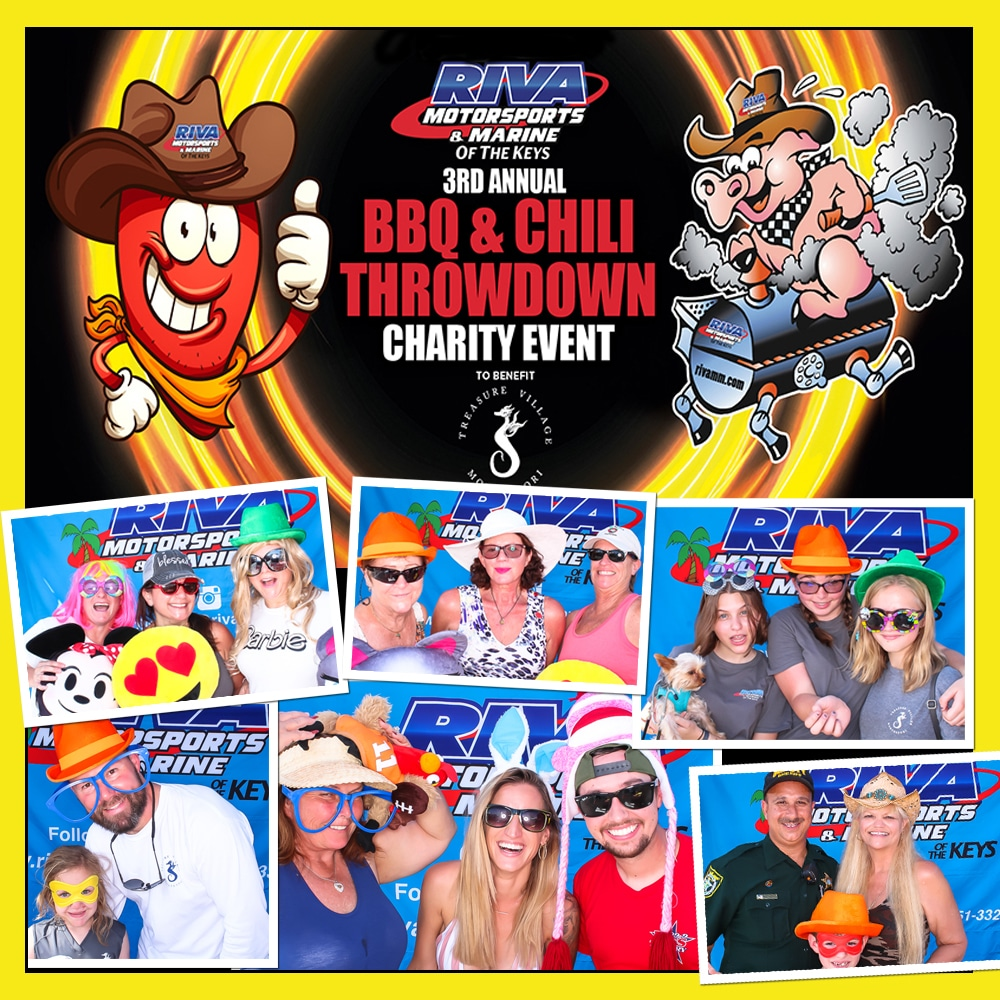 Key Largo Photo Booth BBQ 2018