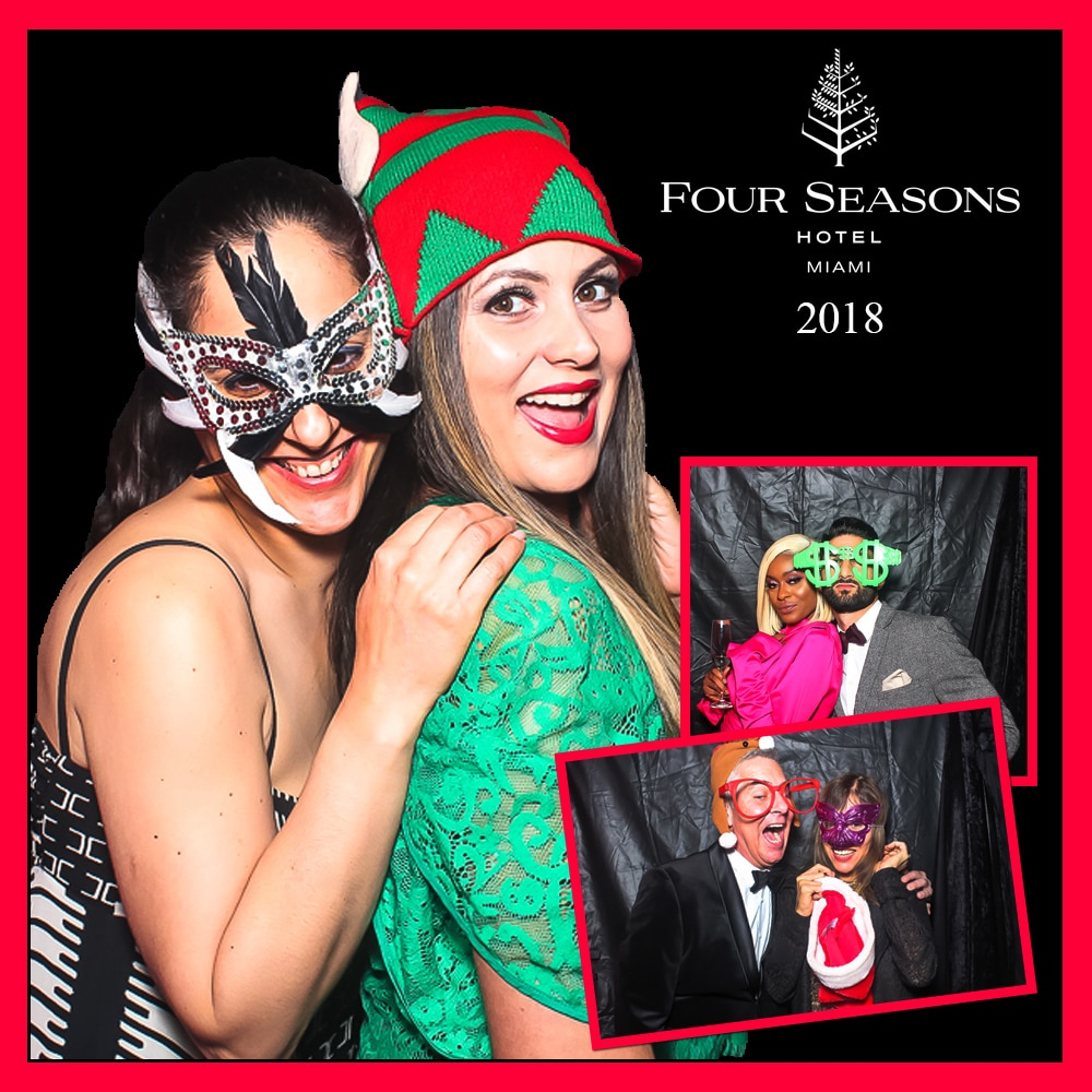 Photo Booth at the Four Seasons