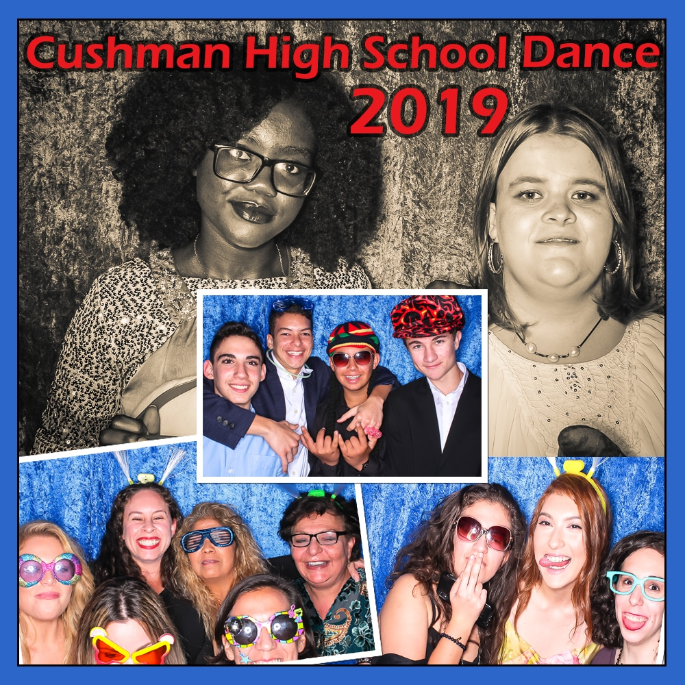 Doubletree Photo Booth High School Dance