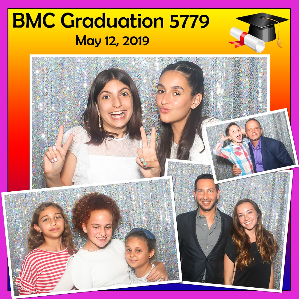 The Shul Graduation Booth