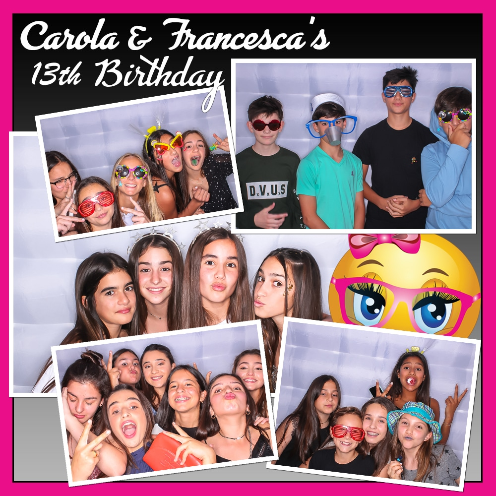 Teen Party Photo Booth