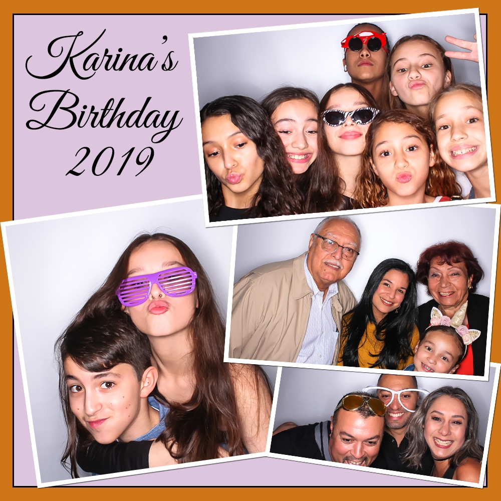 Kendall Photo Booth Birthday Party