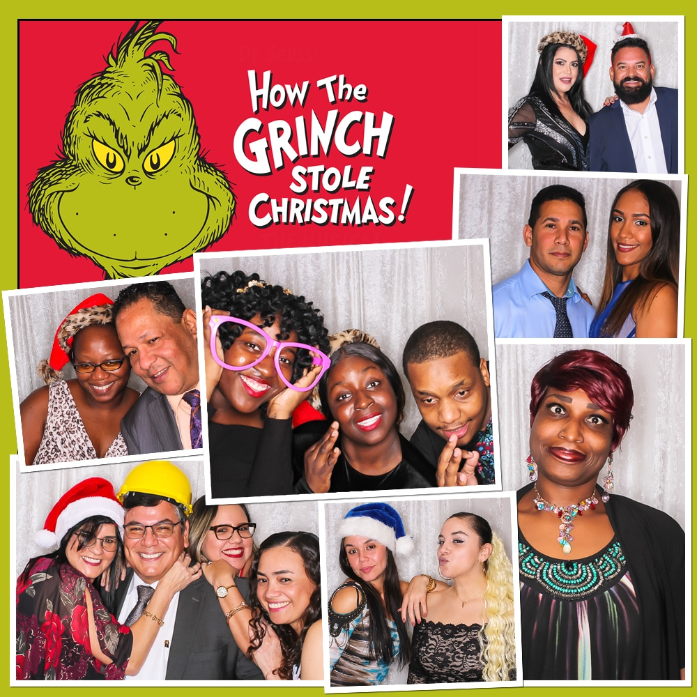 Photo Booth Grinch 2019